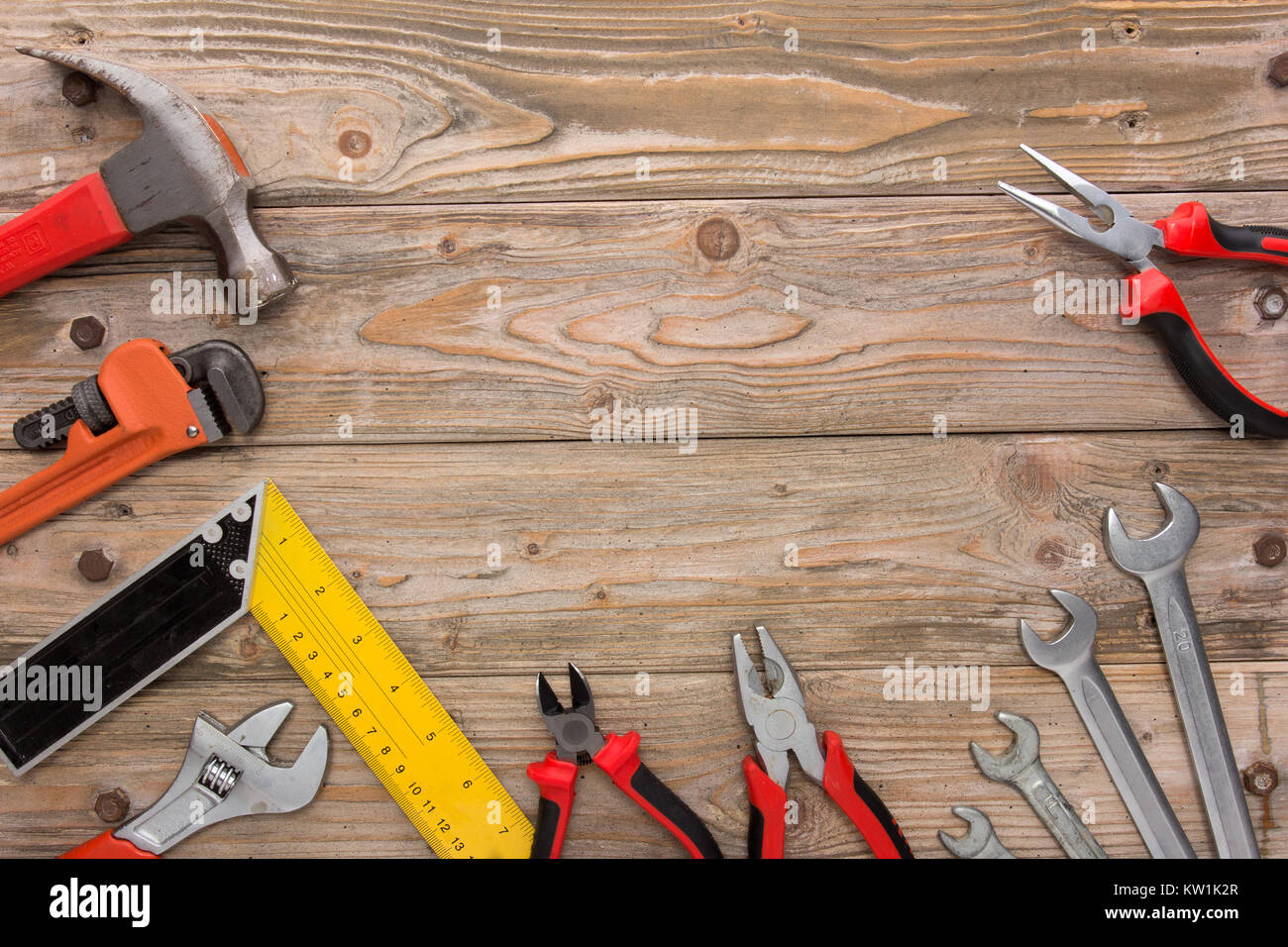 mechanical kit in wooden