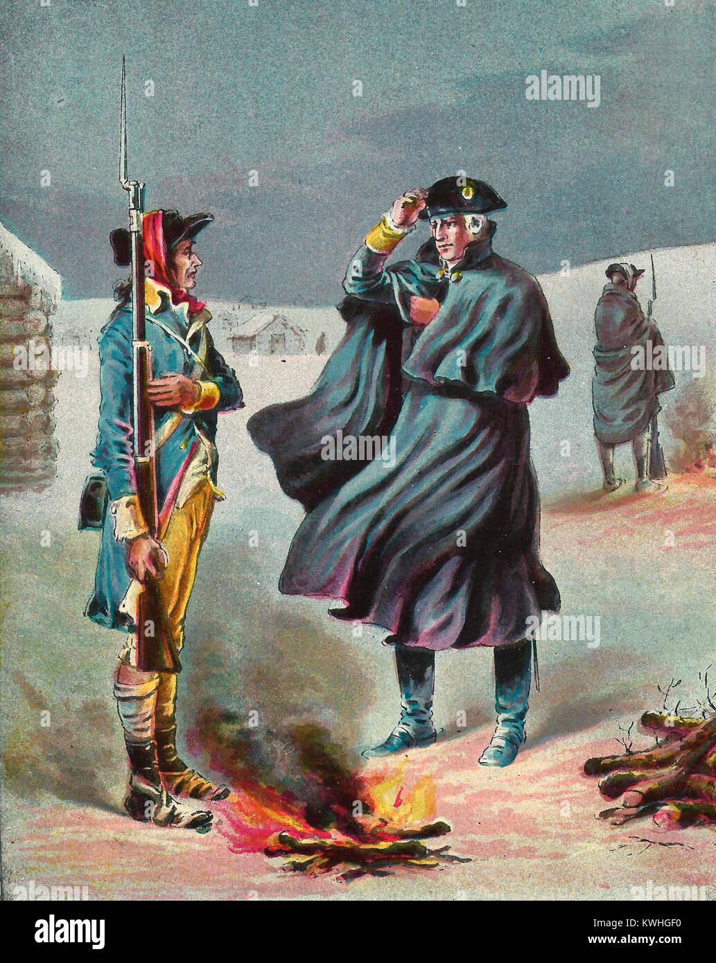valley forge revolutionary war