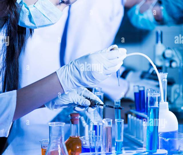 Indian Scientist Students Science Chemistry Test Tube Chemical Research Lab
