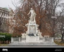 Vienna Austria Mozart Stock &