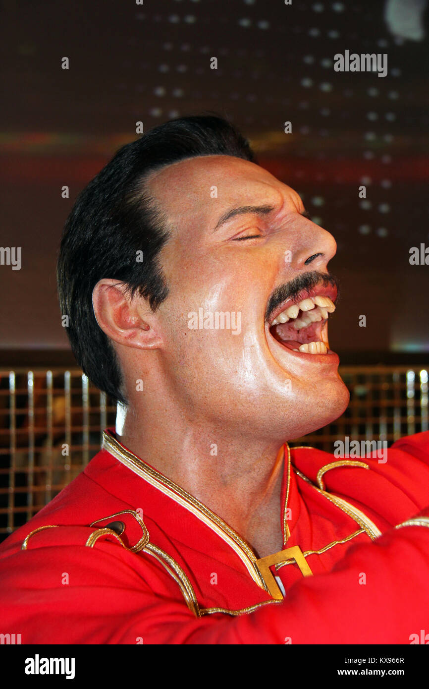 Freddie Mercury Laughing : freddie, mercury, laughing, Freddie, Mercury, Resolution, Stock, Photography, Images, Alamy