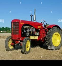 massey harris 744 tractor stock image [ 1300 x 953 Pixel ]