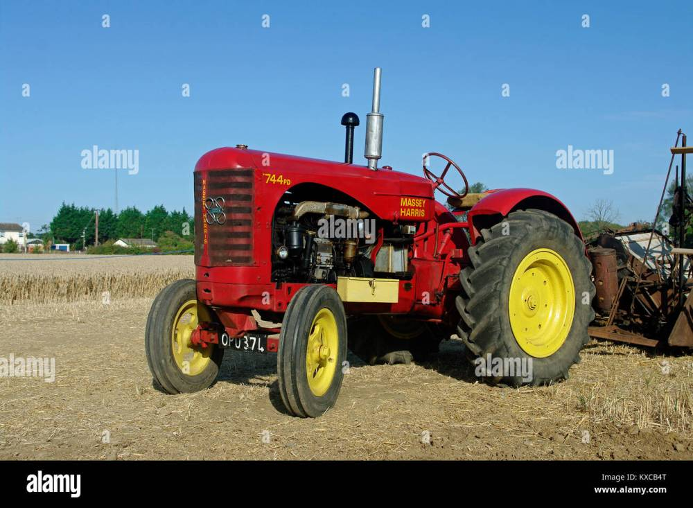 medium resolution of massey harris 744 tractor
