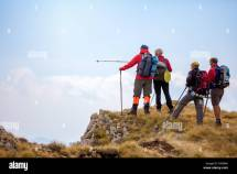 Mountain Climbing Group Stock &