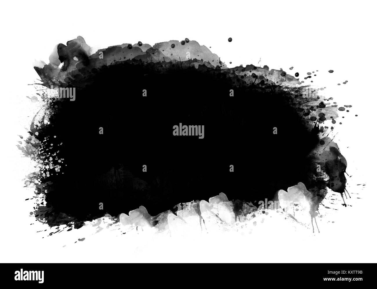 black patch graphic color