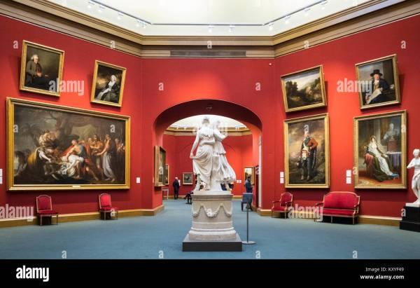 Interior Scotland Uk Scottish Museum Museums Stock &