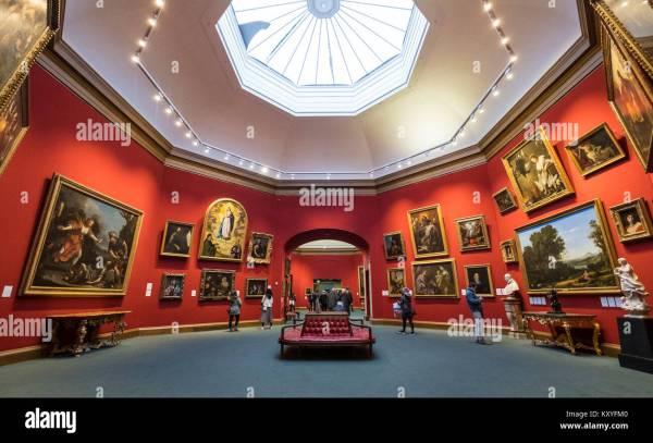 Interior Scotland Uk Scottish Museum Museums Stock