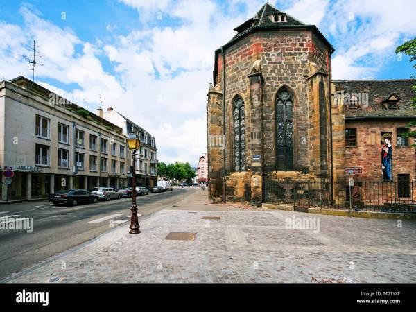 Unterlinden Museum In Colmar Stock & - Alamy