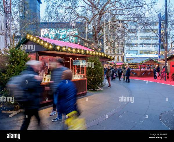 Winter Leicester Square Stock & - Alamy
