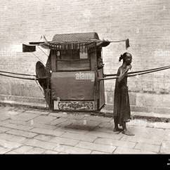 Chinese Wedding Sedan Chair Folding Rental Chicago Palanquin Stock Photos And