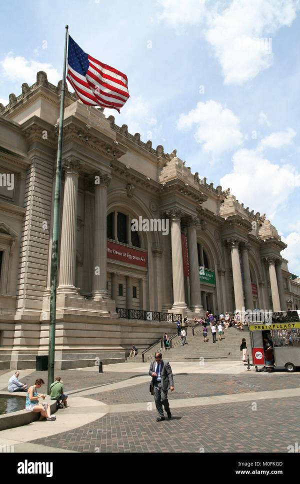 Metropolitan Museum Of Modern Art Stock