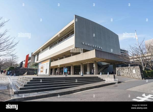 National Museum Modern Art Stock & - Alamy