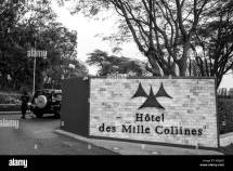 Hotel Des Mille Collines Stock &