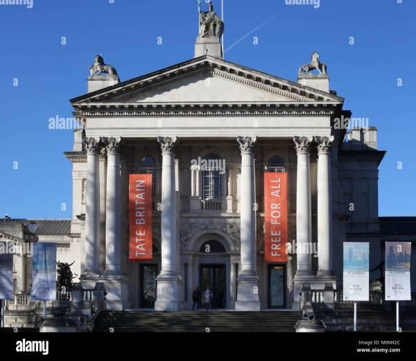 Tate Britain Stock & - Alamy