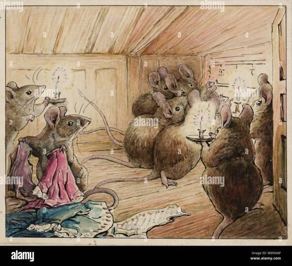 Beatrix Potter Illustration Stock &