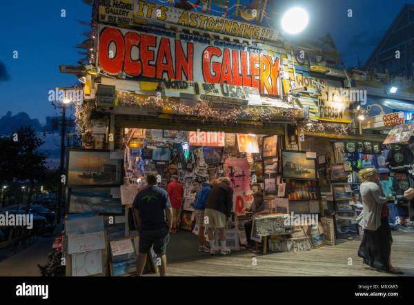 Ocean City Maryland Boardwalk Stock & - Alamy
