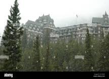 Banff Springs Hotel Winter Stock &