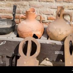 European Kitchen Gadgets Best Sink Brands Vintage Spyglass Stock Photos And