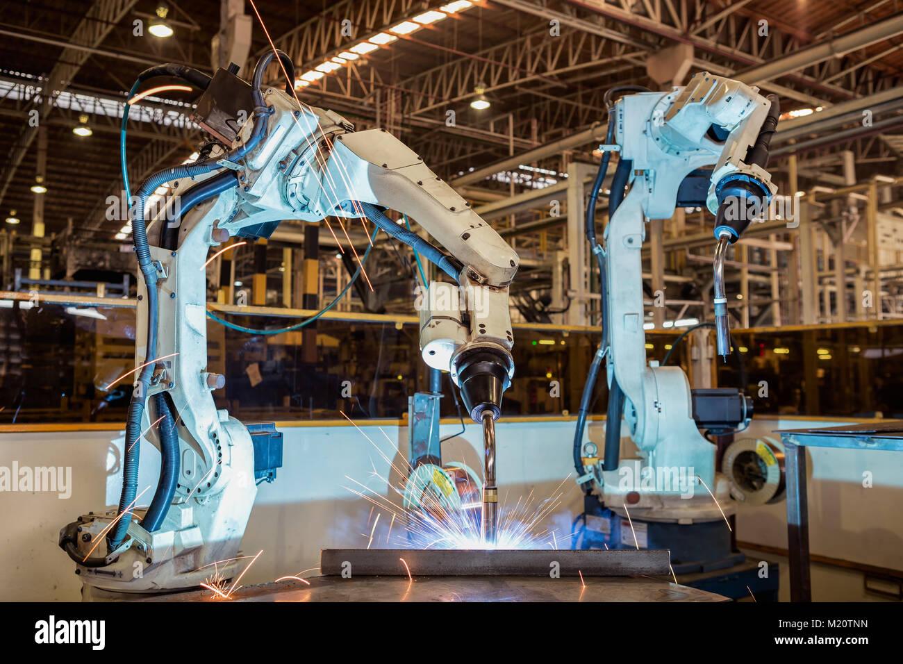welding robot industry industrial