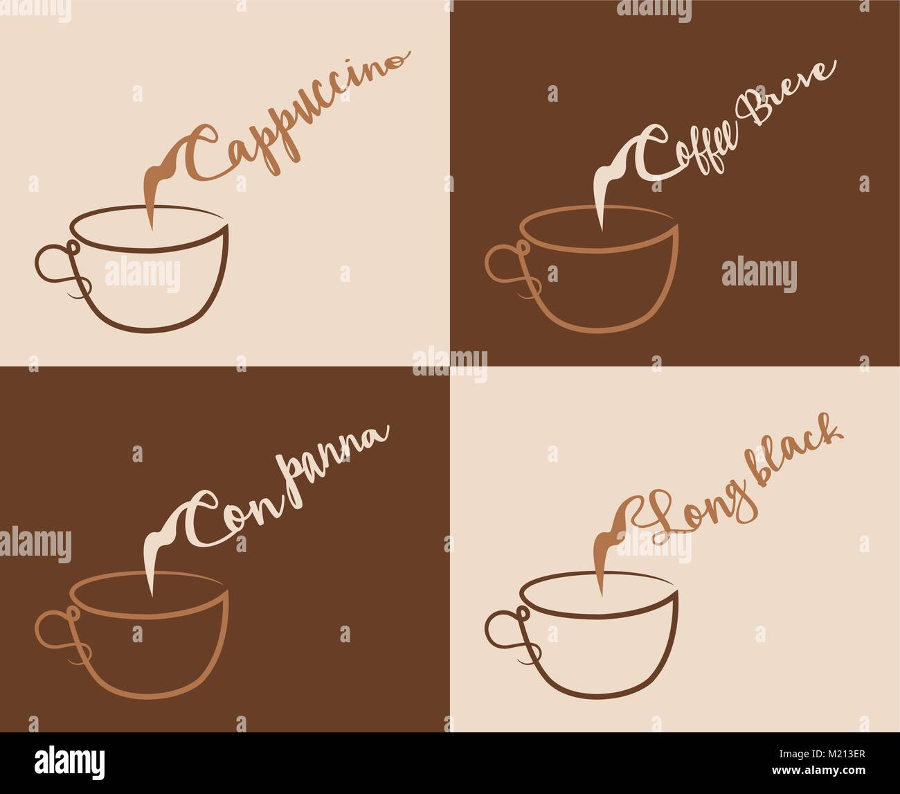 cappuccino and other coffee