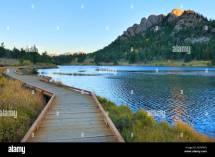 Sunrise Lily Lake Rocky Mountain National Park Estes