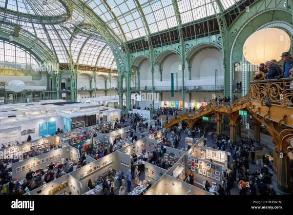 Paris - November 10 Art Fair High Angle View
