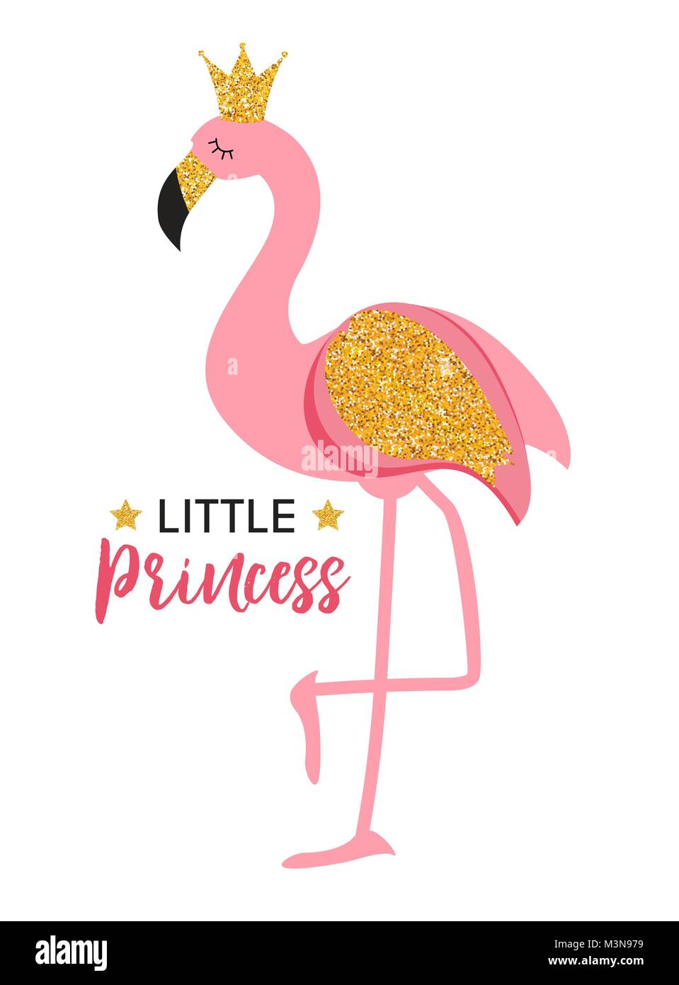 Cute Pink Girl Cartoon Wallpaper Cute Little Princess Abstract Background With Pink