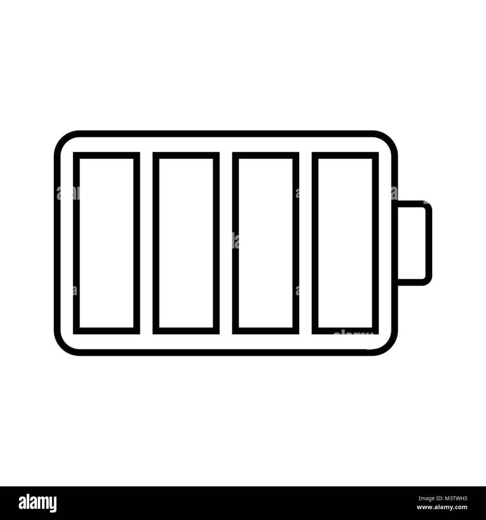 medium resolution of white battery icon