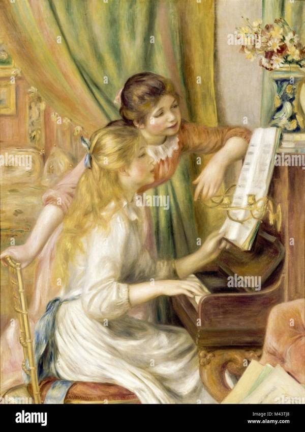 Renoir Piano Stock & - Alamy