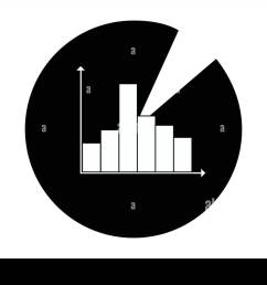 statistics icon symbol for data analysis diagrams business assessment mathematical evaluation artwork of pie chart and bar diagram exploitation [ 1300 x 957 Pixel ]
