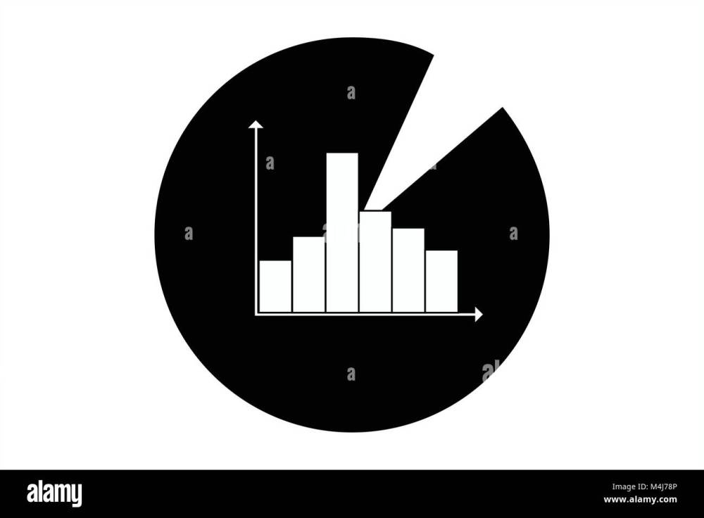 medium resolution of statistics icon symbol for data analysis diagrams business assessment mathematical evaluation artwork of pie chart and bar diagram exploitation