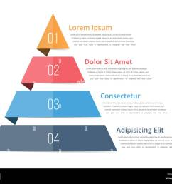 pyramid chart template pyramid infographics four steps infographics vector eps10 illustration [ 1300 x 1065 Pixel ]