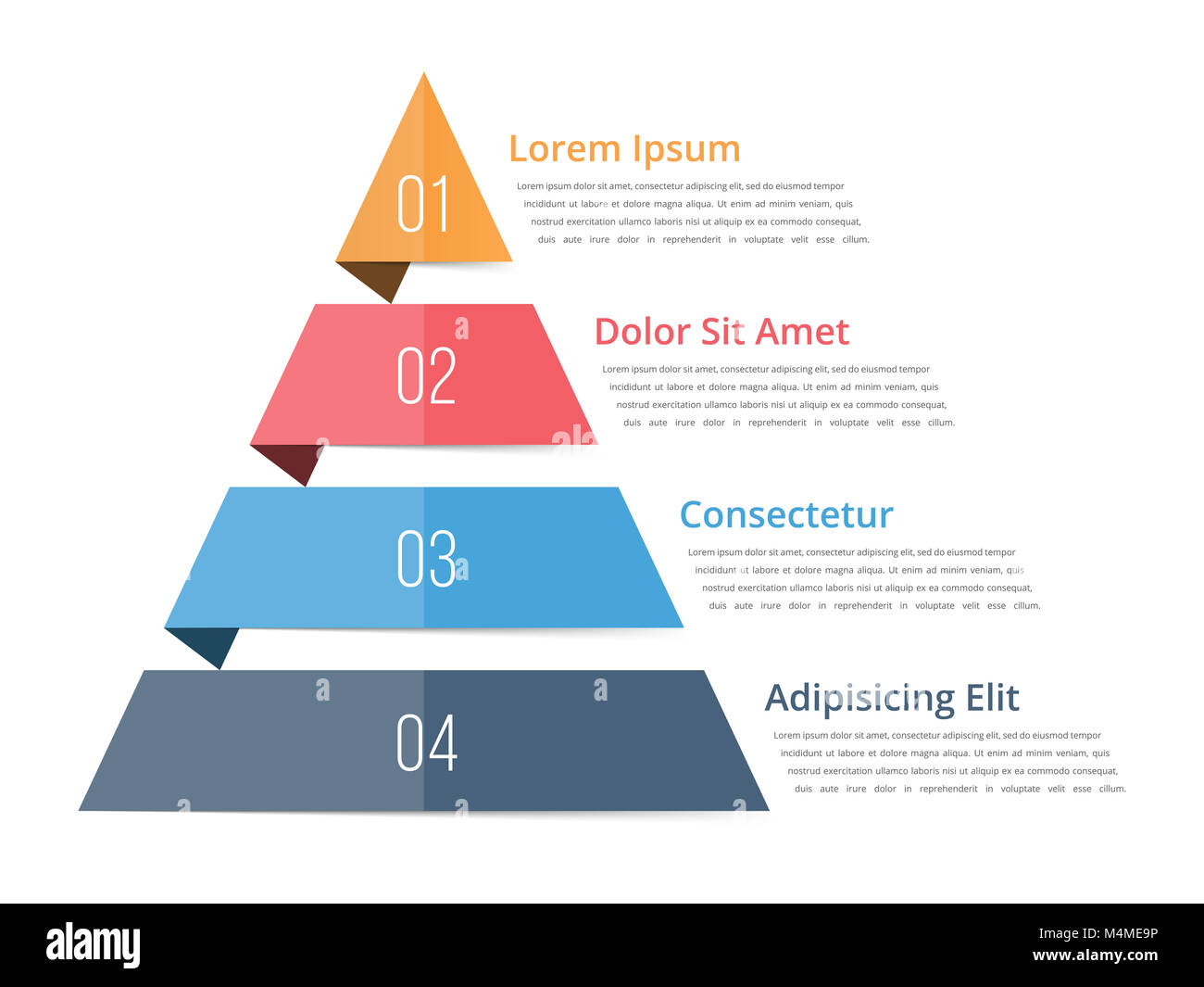 hight resolution of pyramid chart template pyramid infographics four steps infographics vector eps10 illustration
