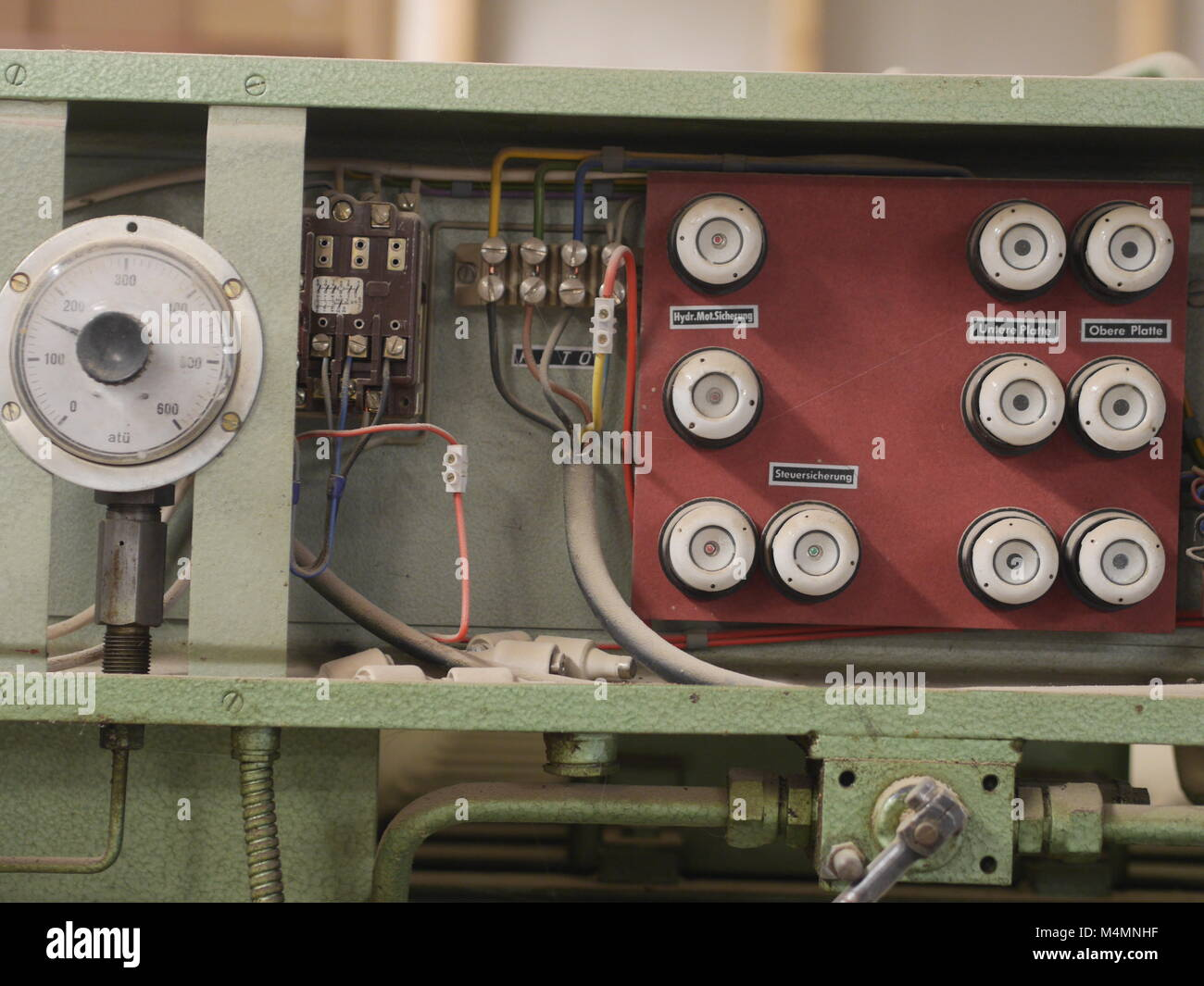 hight resolution of old fuses stock image