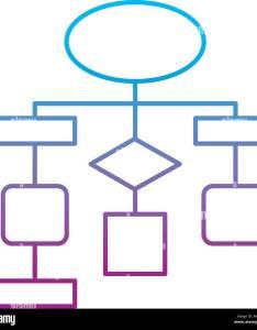 Diagram flow chart connection empty also stock vector art  illustration rh alamy