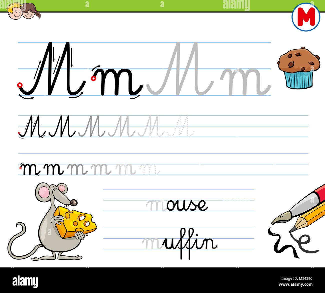 Cartoon Letter M Stock Photos Amp Cartoon Letter M Stock Images