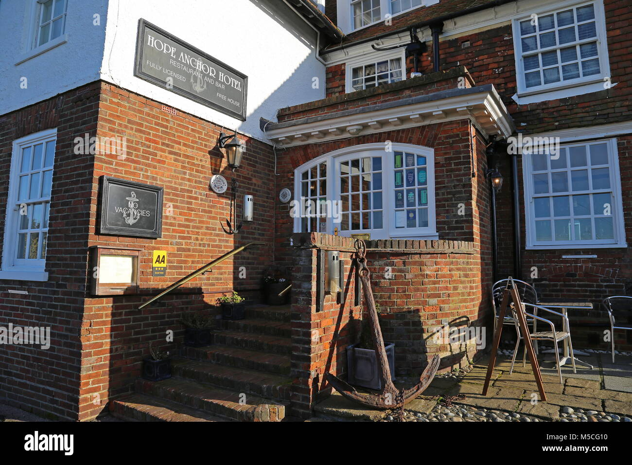 Hope Anchor Hotel Watchbell Street Rye East Sussex
