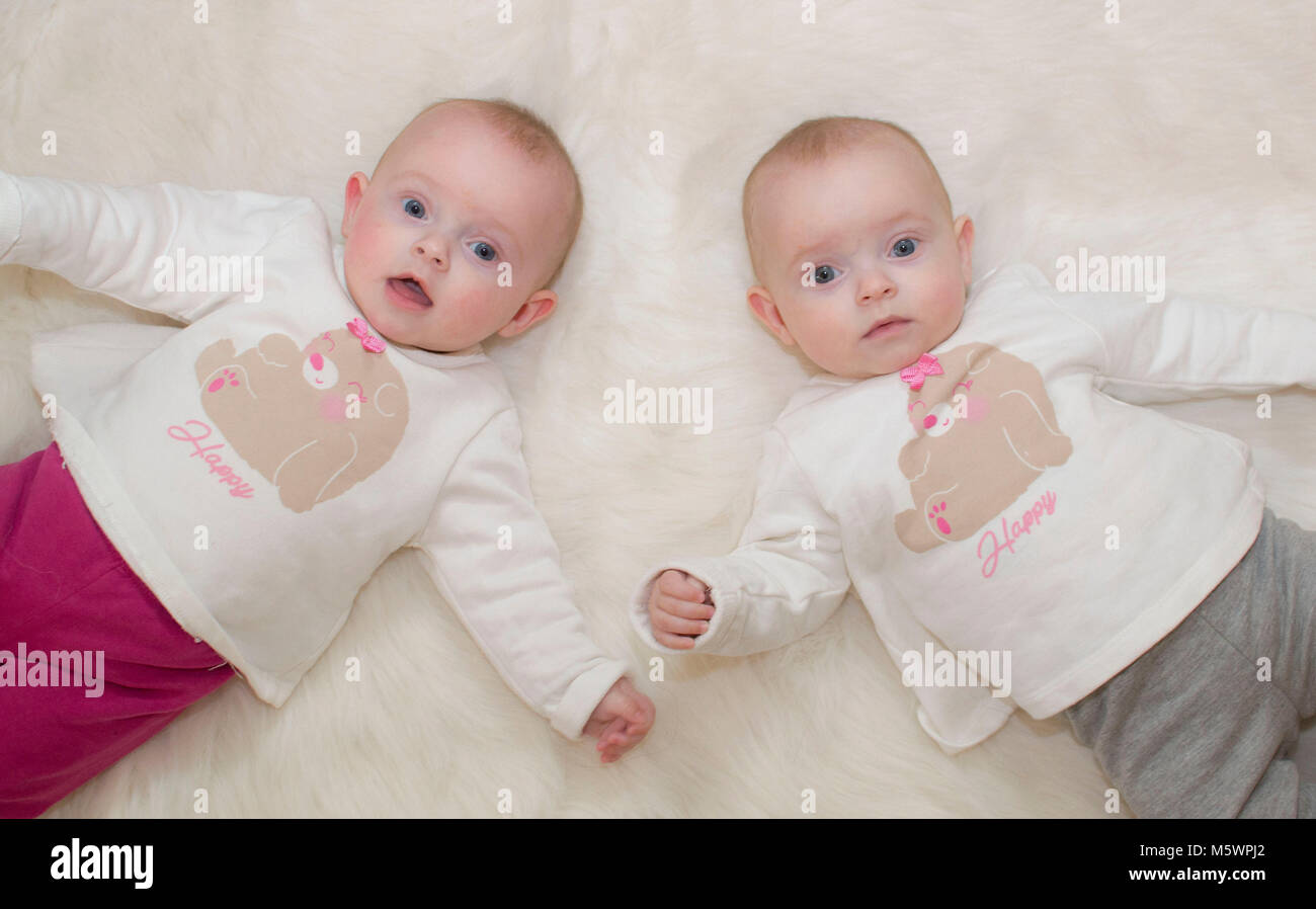 cute babies twins girls