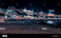 Cannes Hotel Martinez Beach Stock &