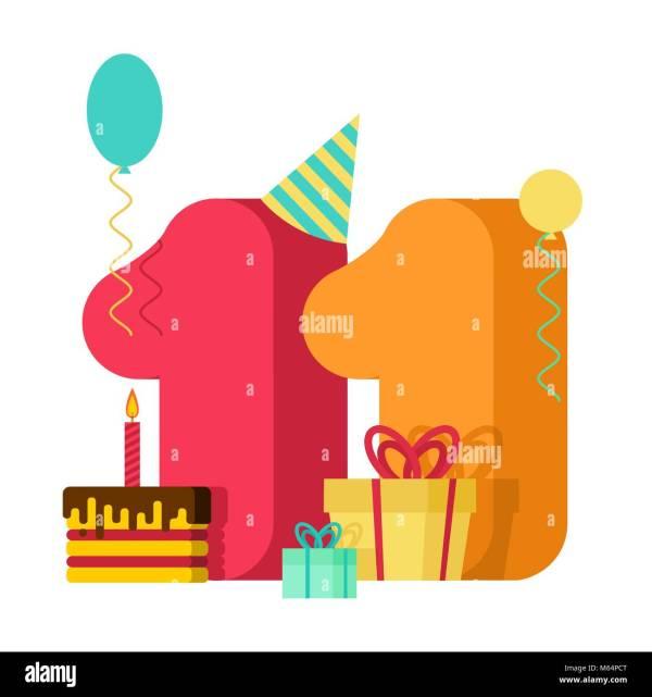 11 year greeting card birthday