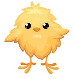 funny chicken in egg for easter decoration cartoon vector flat clipart yellow bird in an egg shell vector illustration on white background [ 1083 x 1390 Pixel ]