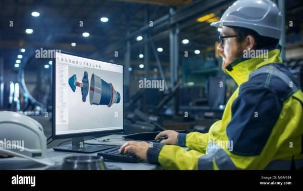 Heavy Industry Factory Industrial Engineer
