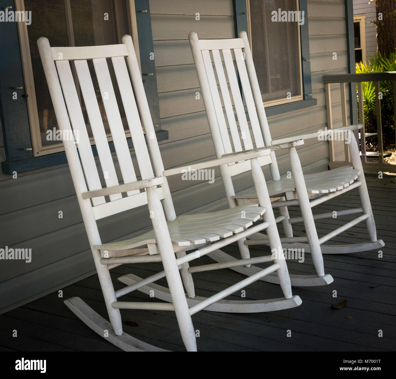old fashioned rocking chairs king chair design covered veranda stock photos and