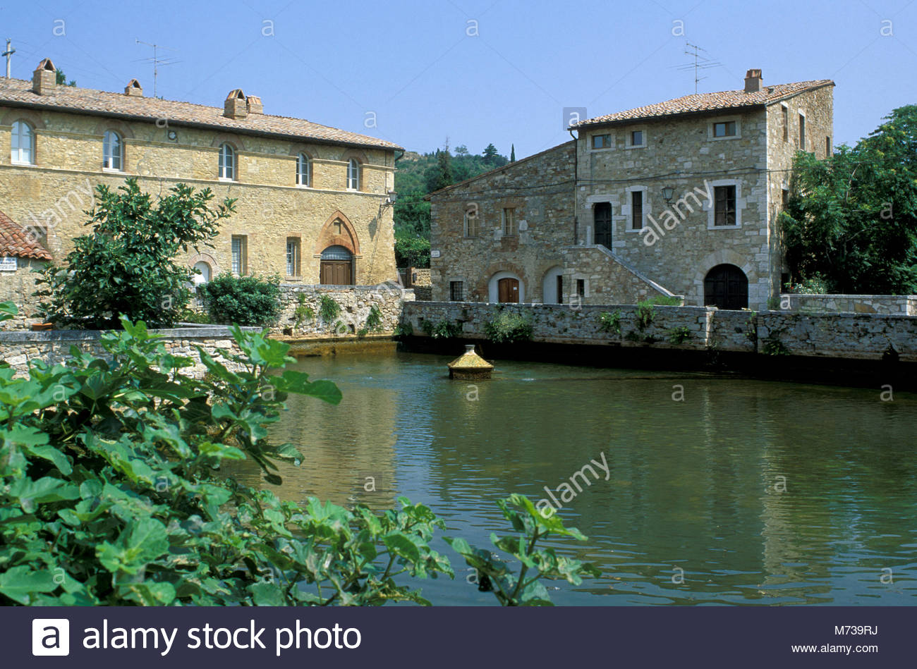 Bagno Vignoni Italy Stock Photos  Bagno Vignoni Italy Stock Images  Alamy