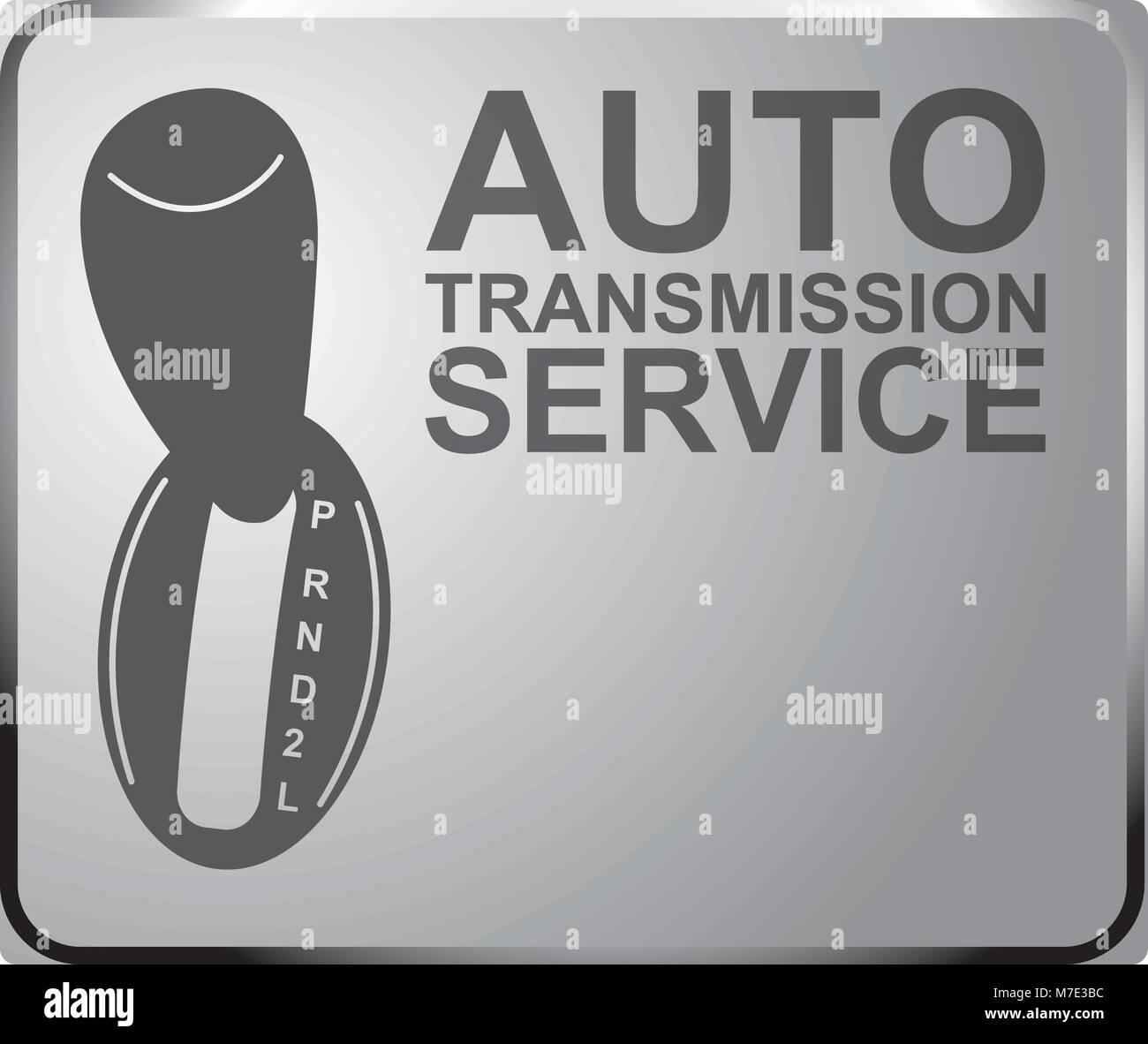 sign auto service automatic