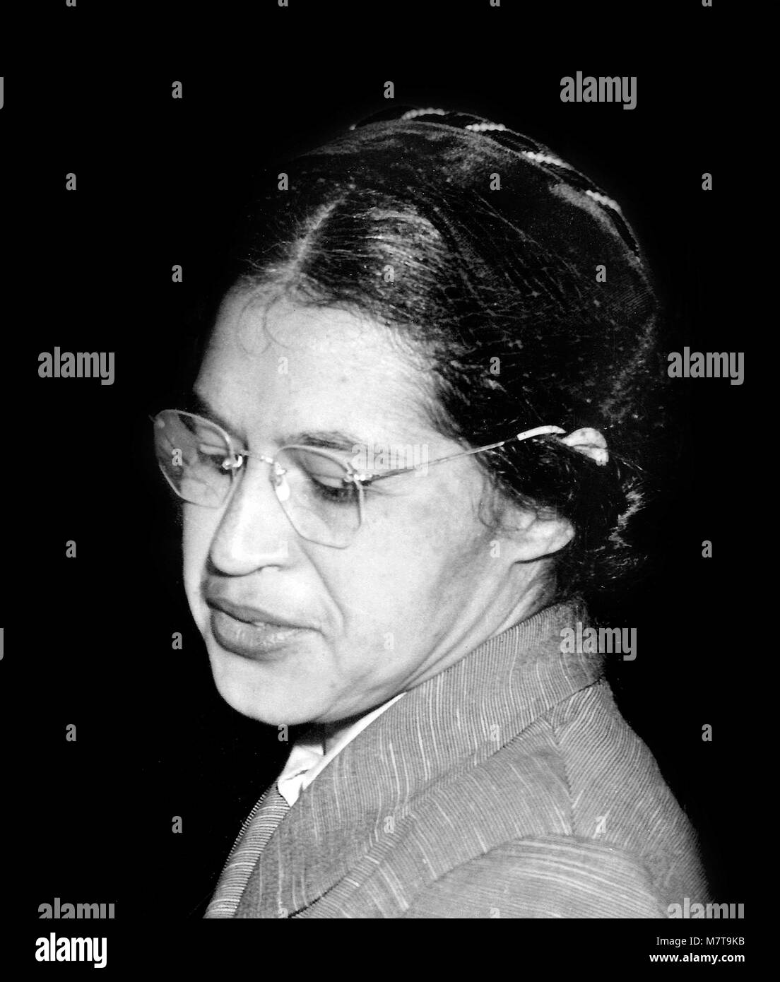 hight resolution of rosa parks 1913 2005 stock image