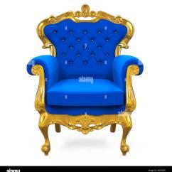 Black Velvet Throne Chair Spool For Sale Blue Stock Photos And