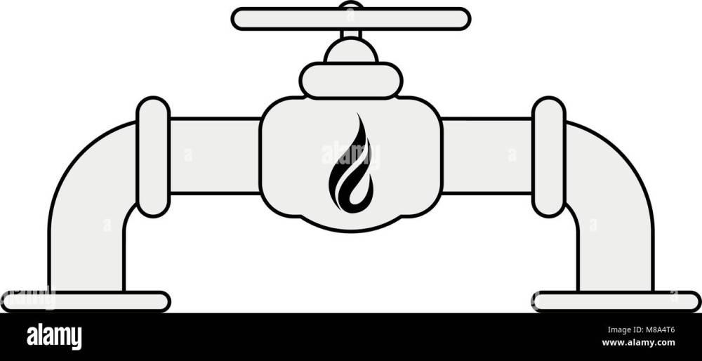 medium resolution of natural gas pipe vector illustration graphic design