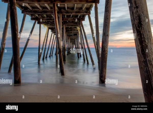 Avalon Pier Sunrise Stock - Year of Clean Water