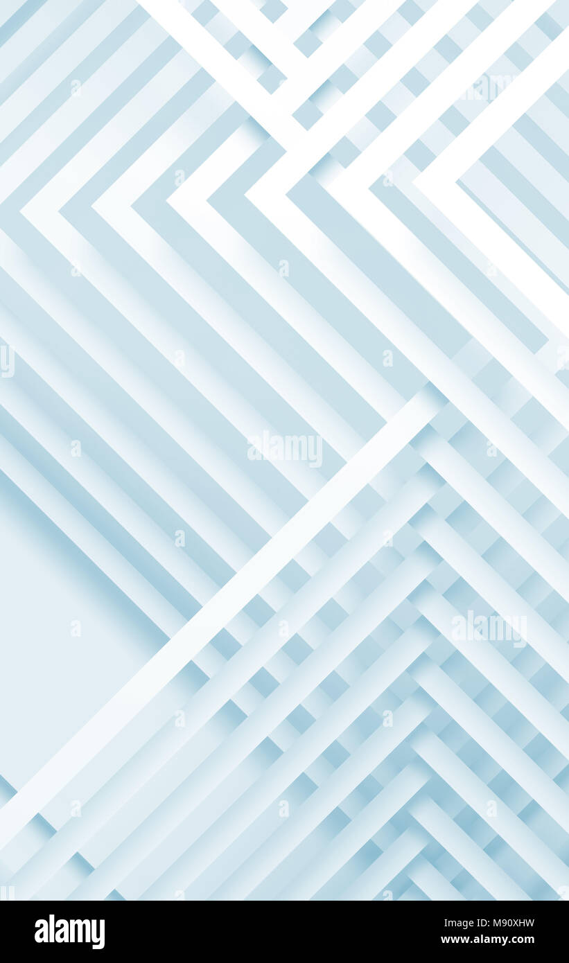 abstract white vertical digital background, geometric pattern with